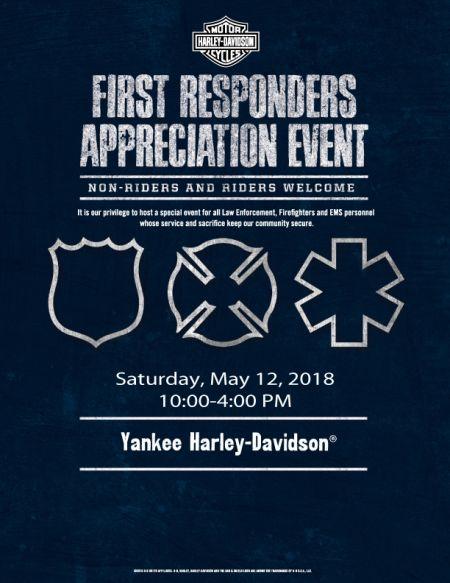 FIRST RESPONDERS APPRECIATION