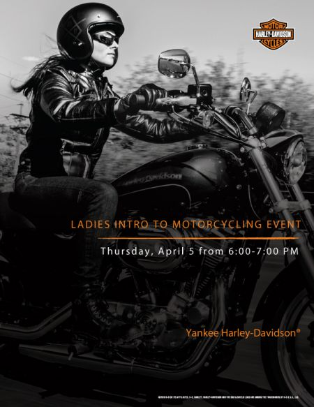 LADIES INTRO TO MOTORCYCLING
