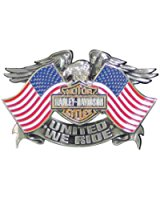 UNITED WE RIDE PIN