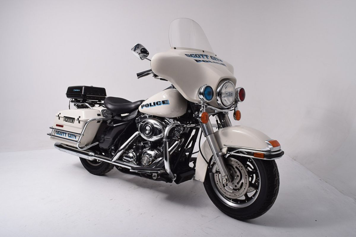 2007 harley davidson electra glide standard police. Black Bedroom Furniture Sets. Home Design Ideas