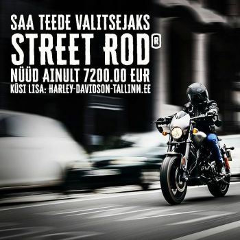 Uhiuus Street Rod vaid 7200€.