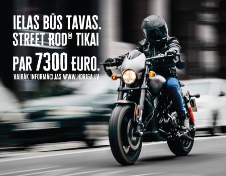 Ielas būs Tavas. Street Rod tikai 7300 eur.