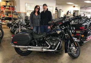 James and Sue picked up their new FLHCS ANX!