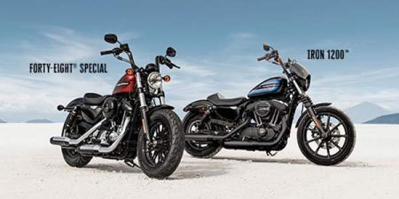 Two new Sportsters