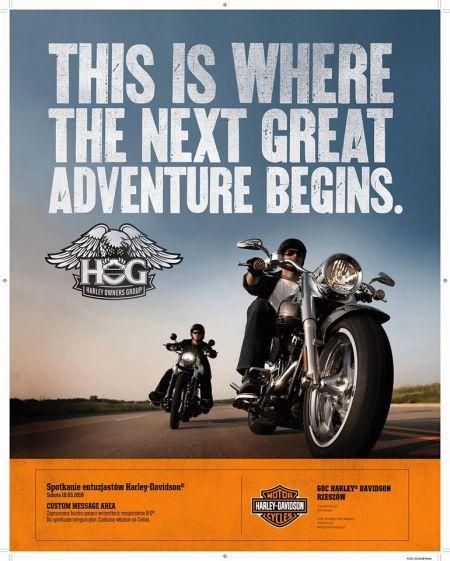 Spotkanie entuzjastów Harley- Davidson