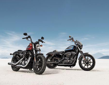 New Harley-Davidson® Forty-Eight® Special And Iron 1200™