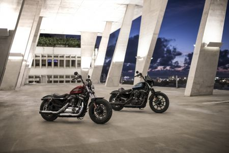 NEW HARLEY-DAVIDSON FORTY-EIGHT SPECIAL & IRON 1200 SPORTSTERS