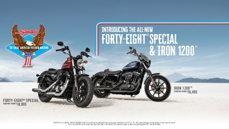 Harley-Davidson® releases two new Sportsters