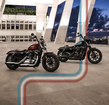 世界同時発売!新しい Iron 1200™ とForty-Eight® Special