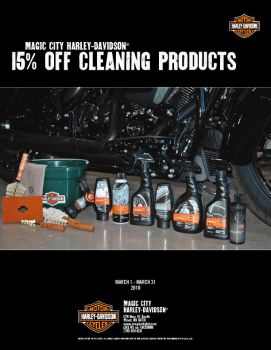 15% OFF Cleaning Products