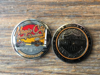 Magic City Military Challenge Coin