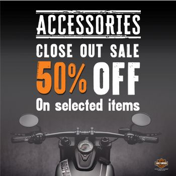 Accessories Close Out Sale