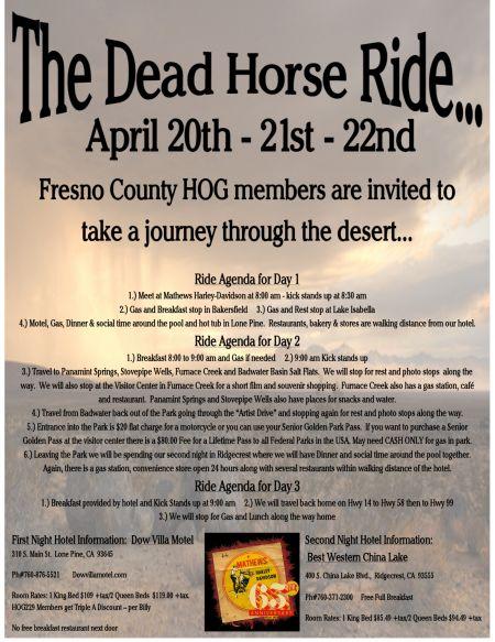 Dead Horse Ride