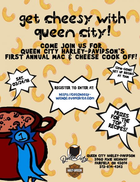 Get Cheesy with Queen City!