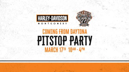 COMING FROM Daytona Pitstop Party!