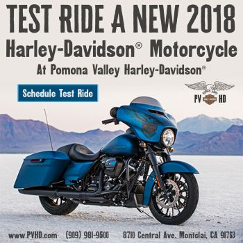 RIDE A NEW HARLEY-DAVIDSON!