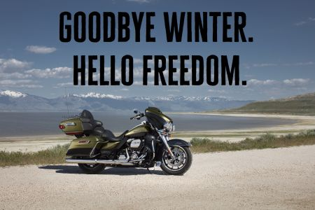 GOODBYE WINTER.HALLO FREEDOM.