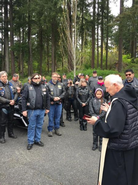 20th Oly Bike Blessing and Tenino Drill Team Beer Hunt