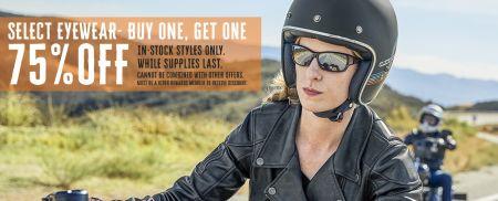 Buy One, Get One 75% OFF Select Eyewear