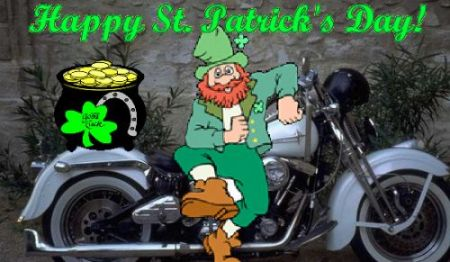 Vreeland's H-D Saint Patrick's Day