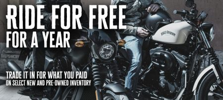 Ride Free For A Year