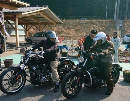 5/26(日)に道の駅「もっくる新城」でハーレーダビッドソン展示・試乗会を開催!!