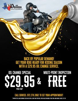 March Oil Change Special