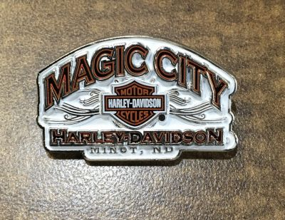 Magic City Logo Pin