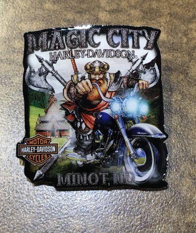 Magic City Viking Pin