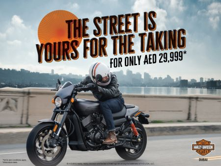 THE STREET IS YOURS FOR THE TAKING!