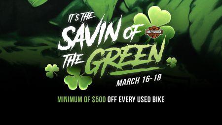 Savin' Of The Green
