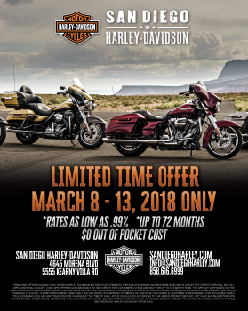 Limited Time Offer! March 8-13 Only