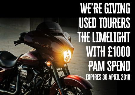 £1000 PAM Spend on Pre-Owned Tourers
