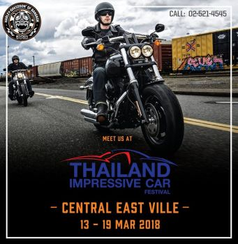 Thailand Impressive Car Festival #13-19 March 2018