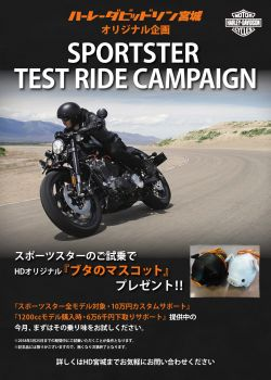 SPORTSTER TEST RIDE CAMPAIGN