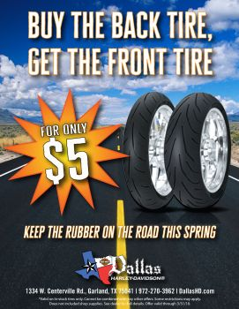 March Tire Special