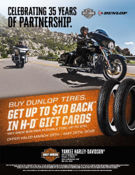 Dunlop Tire Rebate Promotion