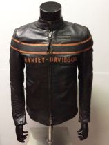 DOUBLE TON SLIM FIT LEATHER JACKET