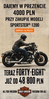 FORTY-EIGHT JUŻ OD 48 800 ZŁ I SUPER OFERTA NA SPORTSERA 1200 !!!