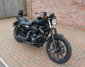 2016 XL883N Sportster Iron 2016 Full Stage One, Forward Controls