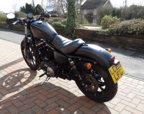 2017 XL883N Sportster Iron 883 66 plate Denim Black