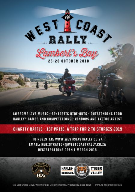 The West Coast Rally 2018