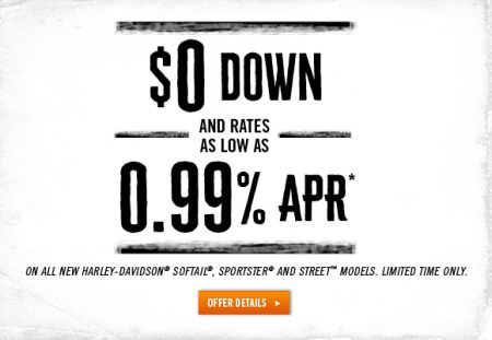 .99% APR AND $0 DOWN FOR 60 MONTHS