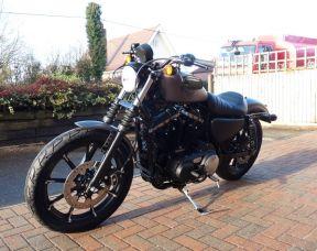 2017 XL883N Sportster Iron 883 Charcoal Denim
