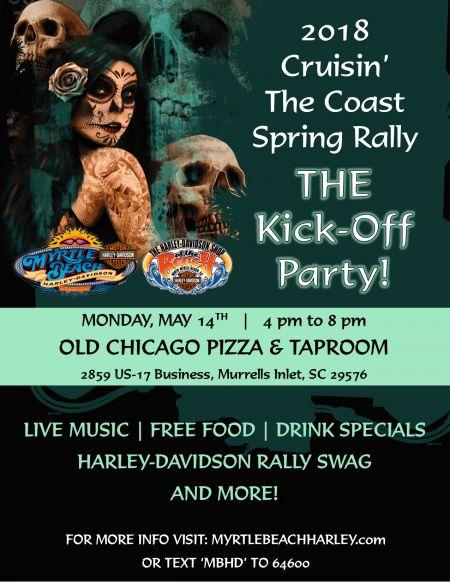 2018 Cruisin' the Coast Spring Rally Kick-Off Party!