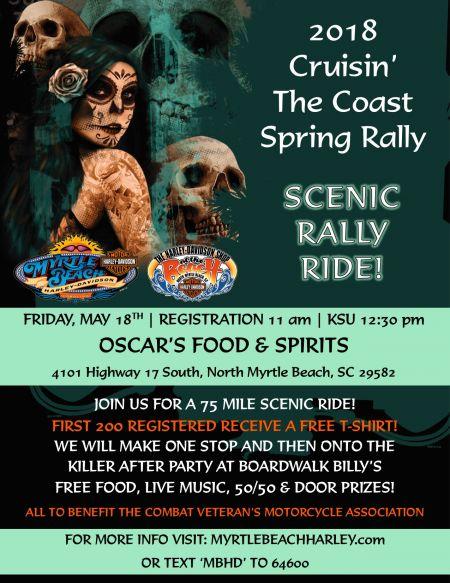 2018 Cruisin' the Coast Spring Rally Scenic Rally Ride!
