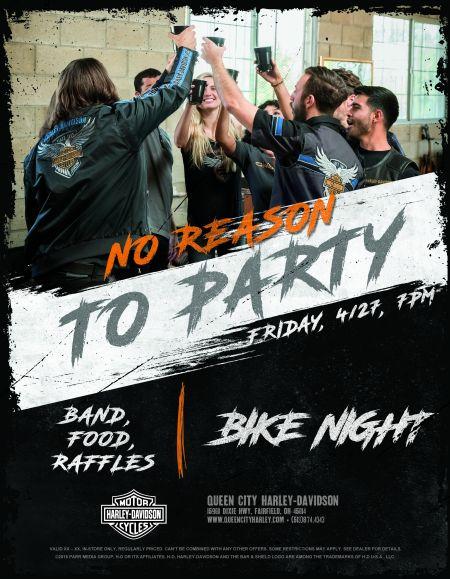 No Reason To Party