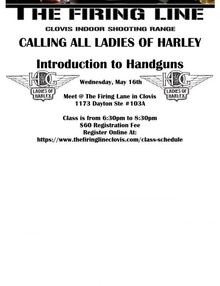 L.O.H. Intro To Handguns Training