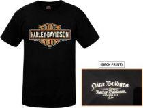 Harley-Davidson® Long Logo Short Sleeve T-Shirt