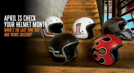 Check Your Helmet!